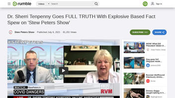 Fact Check: Dr. Sherri Tenpenny Interview Is Full Of False, Misleading Claims About COVID-19