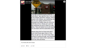Fact Check: QuikTrip Is NOT The Only Location Where Youth In Crisis Can Find A 'Safe Place'