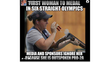 Fact Check: First Woman To Medal In 6 Straight Olympics NOT Ignored By Media, Sponsors Because She Is Outspoken Pro-2A