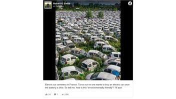 Fact Check: This Electric Car Cemetery Is NOT In France -- It's In Hangzhou, China