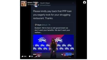 Fact Check: Rep. Lauren Boebert Did NOT Receive A PPP Loan For Her Restaurant
