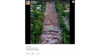 Fact Check: Photo Of Cuban Crowd Is From Years Ago, NOT 2021 Cuban Protests Against Communism