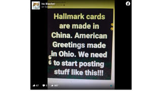 Fact Check: Hallmark Cards Are NOT All Made In China, And American Greetings Cards Are NOT All Made In Ohio