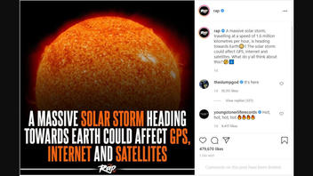 Fact Check: There Is NO Incoming Solar Storm -- It Has Already Passed