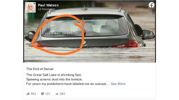 """Fact Check: Image of Flooded BMW With """"F*ck You Greta!"""" Sticker Is NOT Real"""