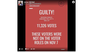 Fact Check: Ballots Cast By People Not On The Voter Rolls In Maricopa County, Arizona, Are NOT Evidence of Fraud