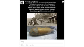 Fact Check: The Story of the Wooden Bombs Dropped by Allied Forces on German Decoy Airfields During WW2 is Likely True