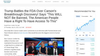 Fact Check: Denzel Washington And Ben Carson Do NOT Endorse Brain Pill That Claims To Boost IQ, Focus Level