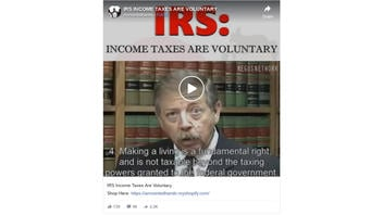 Fact Check: IRS Income Taxes Are NOT Voluntary