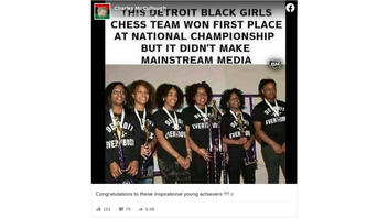 Fact Check: All-Black, All-Female Chess Champions Did NOT Get Snubbed By Mainstream Media