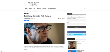 Fact Check: Bill Gates Was NOT Arrested By US Military On July 27, 2021