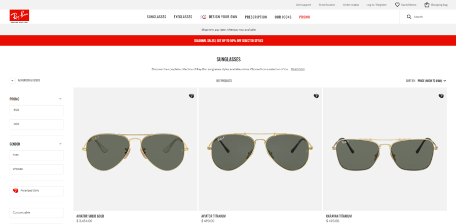 rayban high to low.PNG