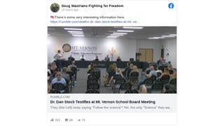 Fact Check: Doctor Addressing Indiana School Board Does NOT Accurately Represent Benefit Of COVID-19 Vaccines