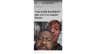 Fact Check: 'Vaccine Bandits' Are NOT Taking Over Los Angeles' Streets -- It's A Joke