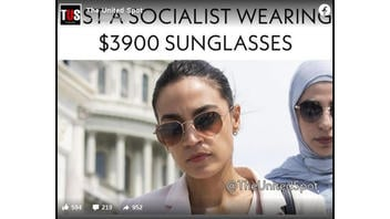 Fact Check: AOC Was NOT Photographed Wearing $3,900 Sunglasses -- It's Satire