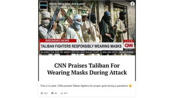 Fact Check: CNN Did NOT Praise Taliban For Wearing Masks During Attack