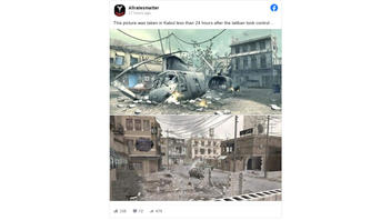 Fact Check: These Images Do NOT Show Kabul After Taliban Took Control -- They're From Call Of Duty Video Game