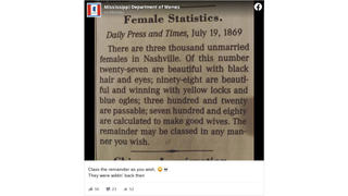 Fact Check: Nashville's Daily Press And Times Really DID Print These Female Statistics In 1869