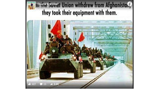 Fact Check: Soviet Union Did NOT Take All Of Its Military Equipment From Afghanistan After the Soviet-Afghan War