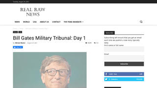 Fact Check: Bill Gates Is NOT Before A Military Tribunal