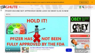Fact Check: Pfizer COVID-19 Vaccine IS Approved By The FDA