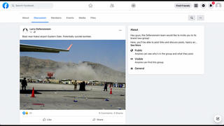 Fact Check: Kabul Airport Photograph Is NOT From August 26, 2021 -- It Was Taken August 16, 2021