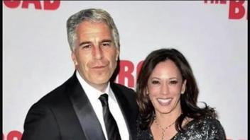 Fact Check: Image Of Kamala Harris and Jeffrey Epstein Is NOT Real -- It's Photoshopped