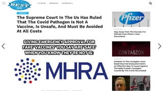Fact Check: The Supreme Court Did NOT Rule That The COVID Vaccine Is Unsafe