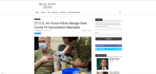 Fact Check: NO Evidence That 27 U.S. Air Force Pilots Resigned Over COVID-19 Vaccination Mandate