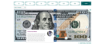 Fact Check: $100 Bills Do NOT Contain Tags In Their Blue Security Ribbons That Are Connected To Devices Used By Law Enforcement