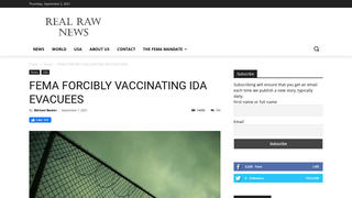 Fact Check: FEMA Is NOT 'Forcibly' Vaccinating Hurricane Ida Evacuees