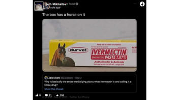 Fact Check: Ivermectin Deworms Livestock AND Treats Human Parasites, But Manufacturer Does NOT Recommend It For COVID-19