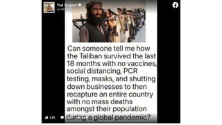 Fact Check: Taliban And Afghanistan Did NOT Skip Vaccines, Escape Mass Deaths During Global COVID-19 Pandemic