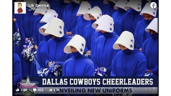 Fact Check: Dallas Cowboys Cheerleaders Did NOT Unveil New Uniforms