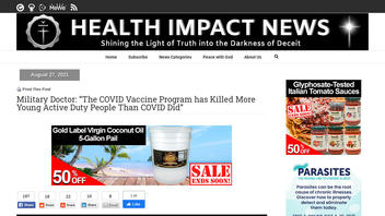 Fact Check: COVID-19 Vaccine Program Has NOT Killed More Active-Duty Military Than The Virus