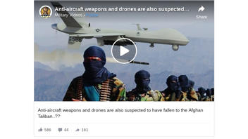 Fact Check: This Video Is NOT Footage of Taliban With Anti-Aircraft Weapons -- It's A Video Game