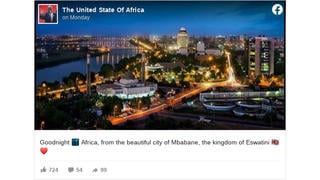 Fact Check: This Image Does NOT Show Mbabane In Eswatini -- It's Khartoum In Sudan