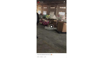 Fact Check: Viral Video Does NOT Show Rice Being Made Out Of Plastic Sheets In A Factory -- They're Plastic Pellets