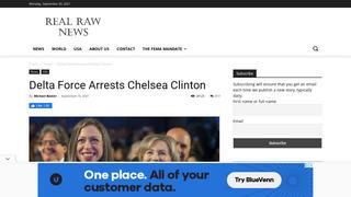 Fact Check: Delta Force Did NOT Arrest Chelsea Clinton