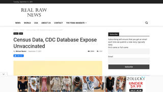 Fact Check: U.S. Census Bureau And CDC Did NOT Share Private Data With County Health Officials To Enforce Vaccinations