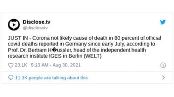 Fact Check: German Researcher Did NOT Document Claim That 80% Of German COVID-19 Deaths Are Actually From Other Causes