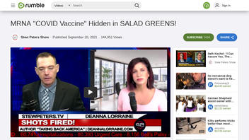 Fact Check: COVID-19 Vaccines Are NOT Hidden in Salad Greens