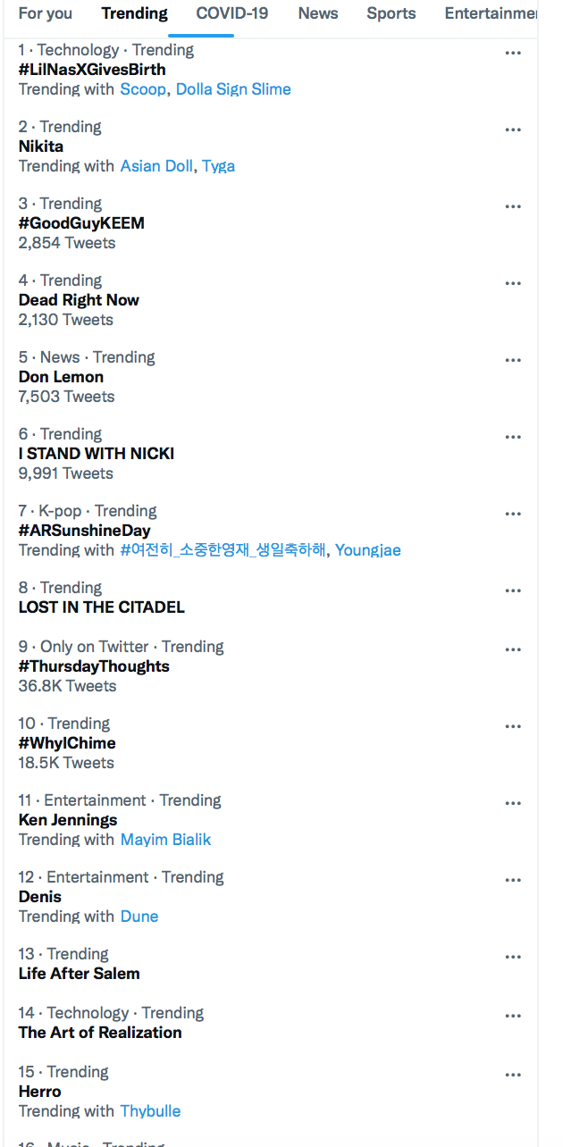 twitter trend page for royal divorce claim.png