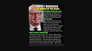 Fact Check: Rupert Murdoch Did NOT Say 'I Started Fox News To Get Rich,' Did NOT Refer To 'Low IQ Viewers'