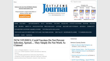 Fact Check: Cherry-Picked 'Studies' Do NOT Prove COVID Vaccines Don't Work
