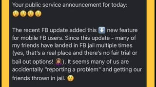 Fact Check: Shaking A Mobile Phone Does NOT Inadvertently Send Friends To 'Facebook Jail'