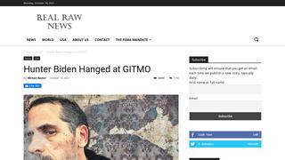 Fact Check: Hunter Biden Was NOT Hanged At Gitmo