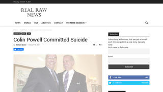 Fact Check: Colin Powell Did NOT Commit Suicide