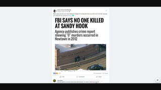 Fact Check: FBI Did NOT Say That There Were No Killings At Sandy Hook -- Data Were Submitted To FBI Later