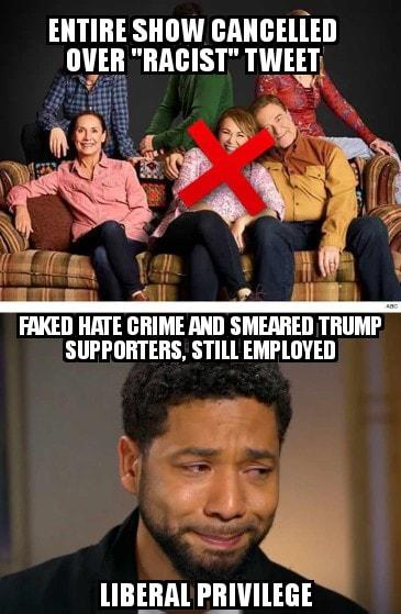 False Comparison: Consequences NOT So Different For Roseanne Barr And Jussie Smollett